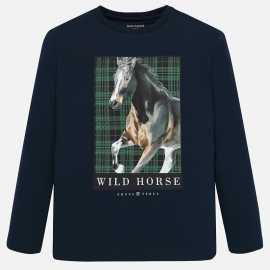 CAMISETA M-L -WILD HORSE-